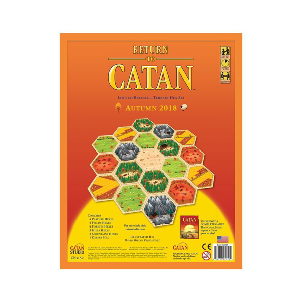 set of 3 Wool//Sheep Settlers of Catan hex tiles 5th edition